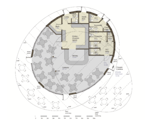 Pavilion example layout plan