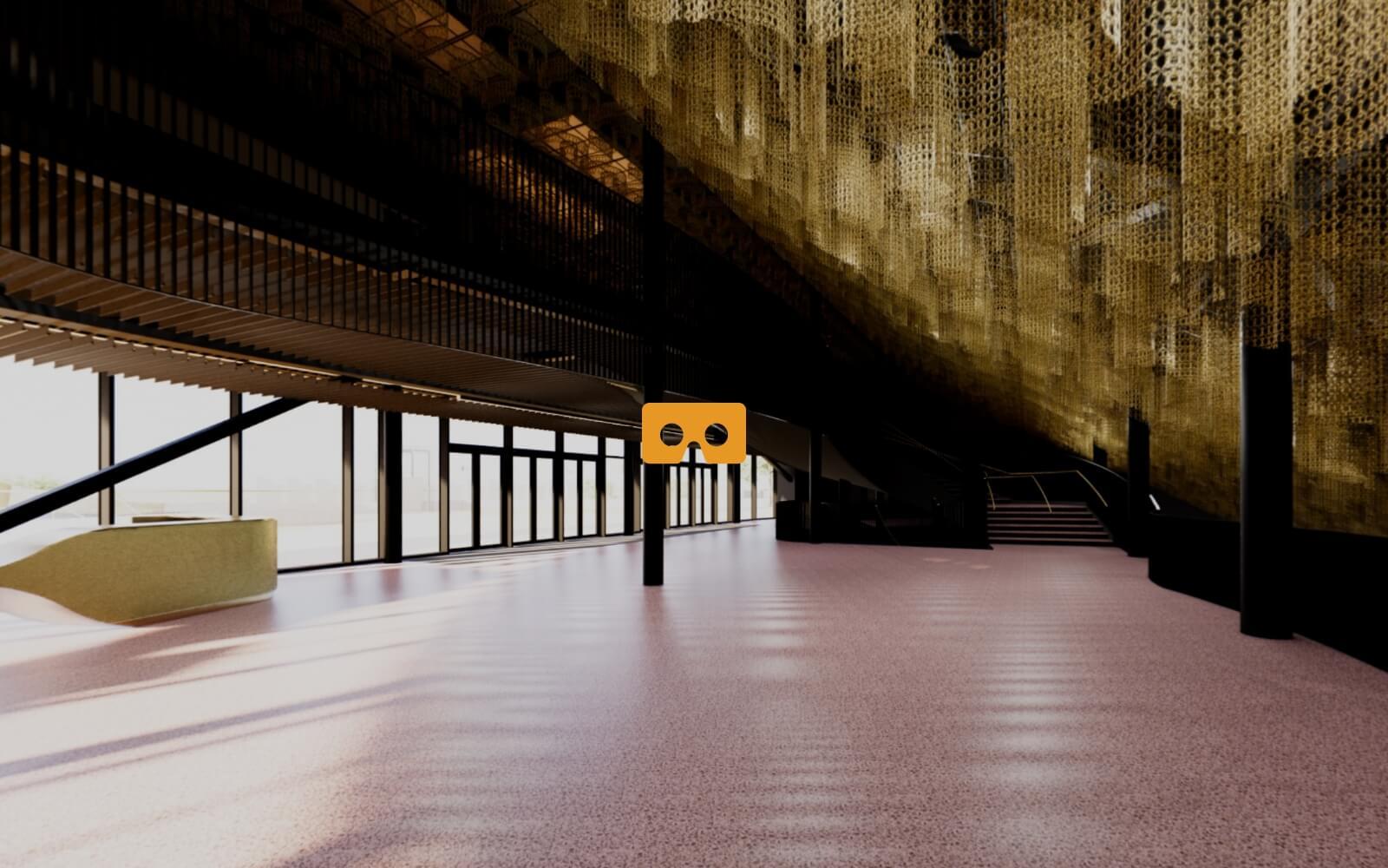 360 view foyer