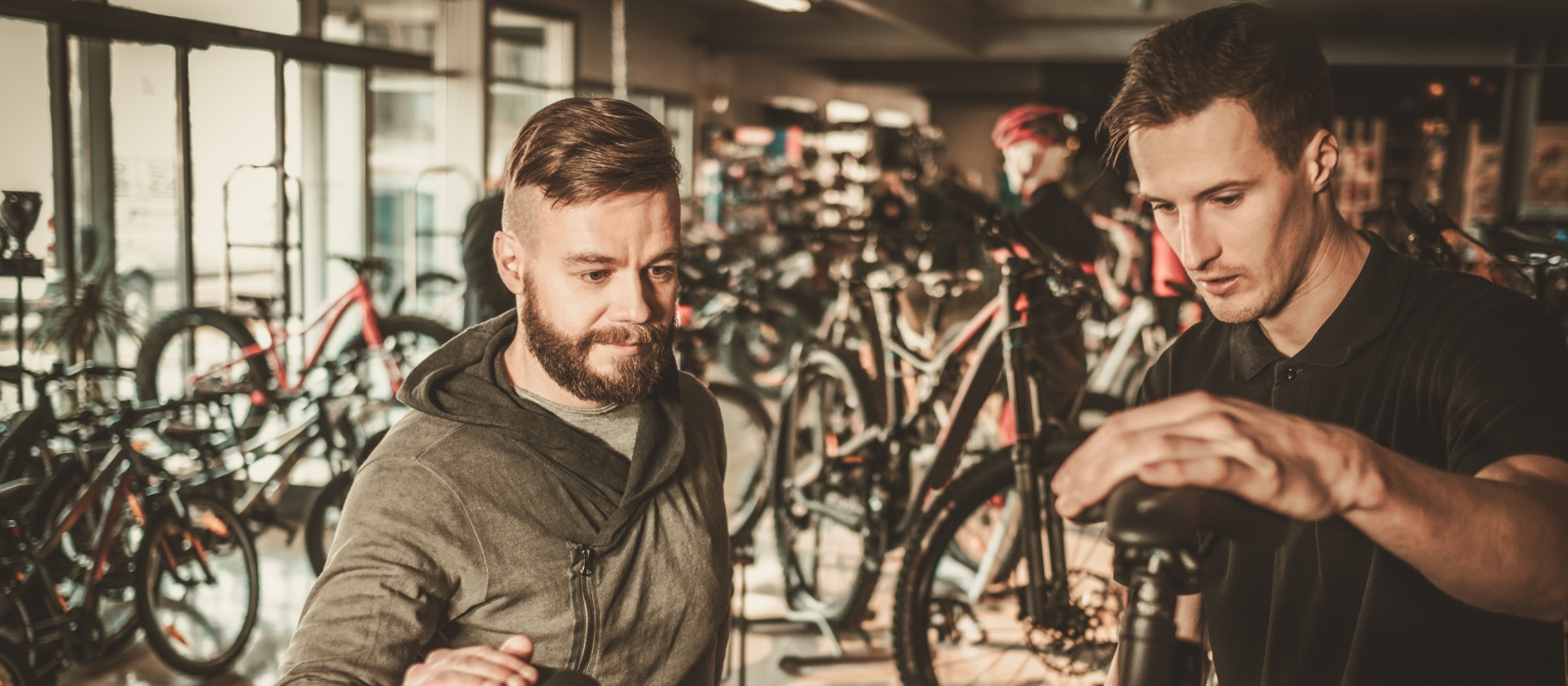 BikeHub header