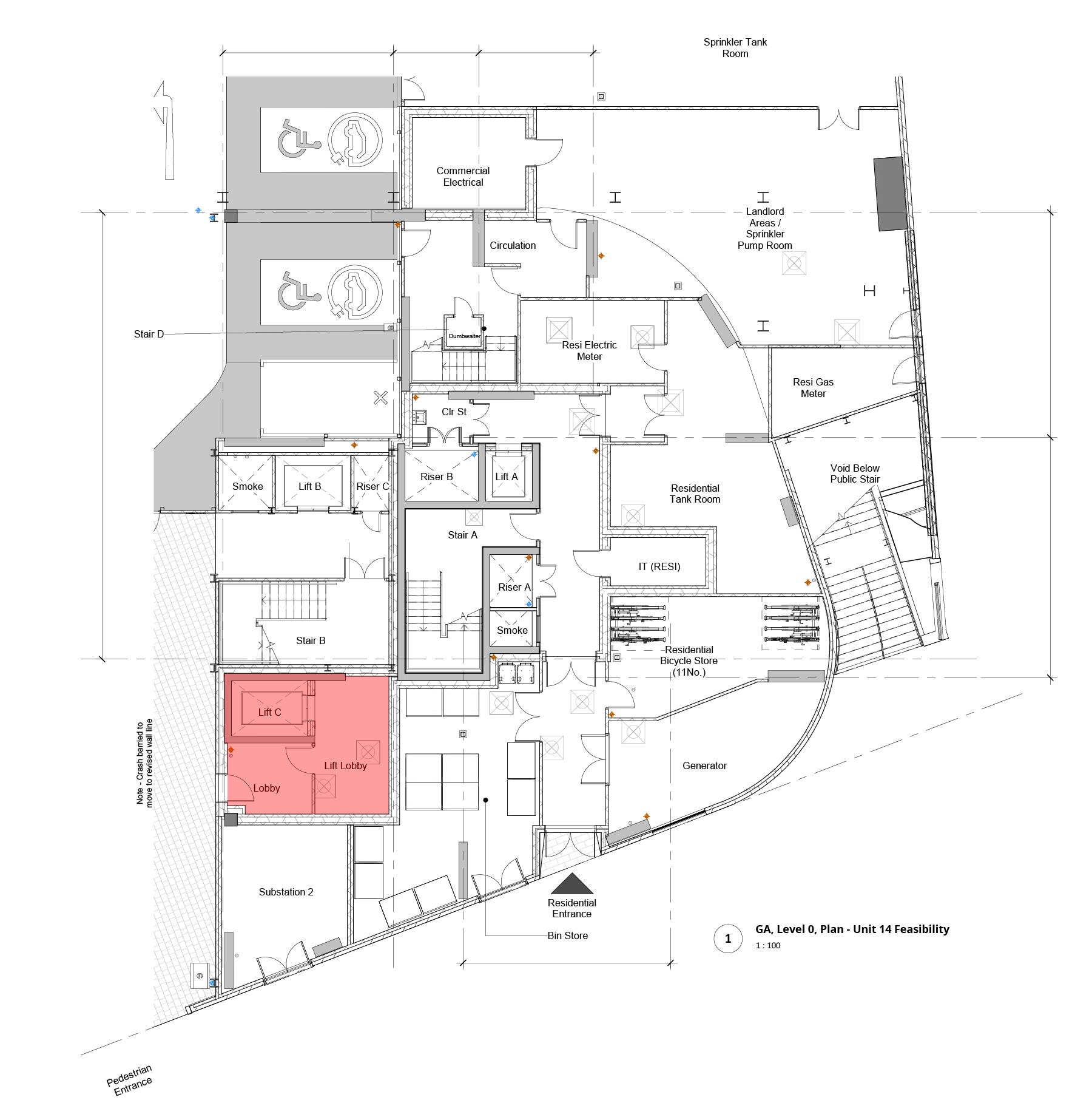 Unit 14, level 0